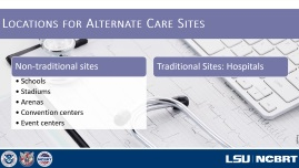 Alternate Care Sites